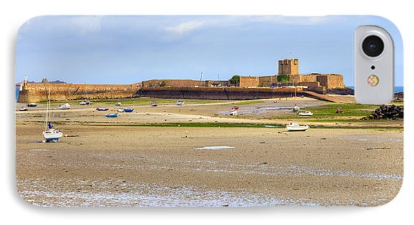 St Aubin's Fort - Jersey Phone Case by Joana Kruse