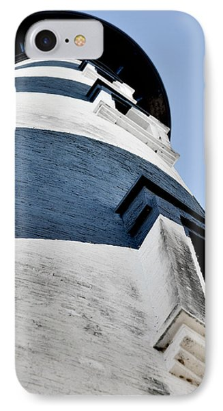 St Augustine Lighthouse - Angels And Ghosts IPhone Case by Christine Till