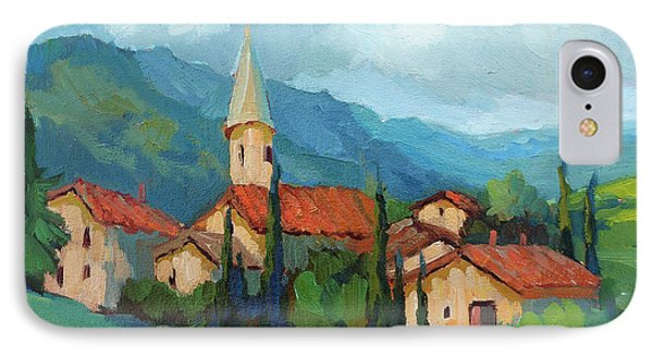 St. Colombe Provence IPhone Case by Diane McClary