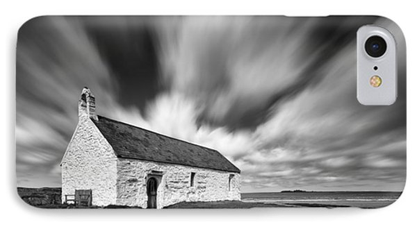 St Cwyfan's Church Phone Case by Dave Bowman