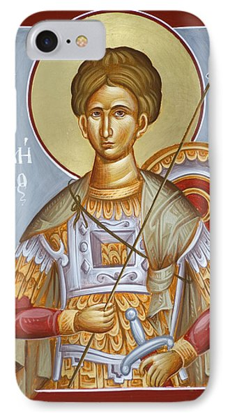St Dimitrios The Myrrhstreamer IPhone Case by Julia Bridget Hayes