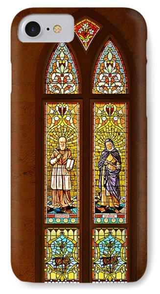 St Francis Of Sales And St Monica IPhone Case by Christine Till