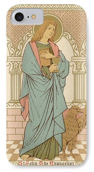 St John The Evangelist IPhone Case by English School
