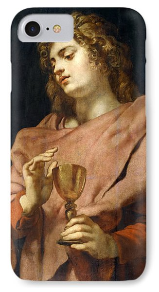 St John The Evangelist IPhone Case by Peter Paul Rubens