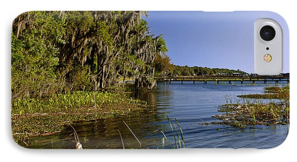 St Johns River Florida Phone Case by Christine Till