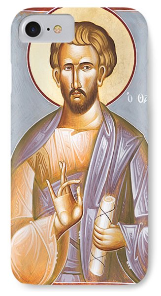 St Jude Thaddeus IPhone Case by Julia Bridget Hayes