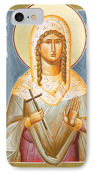 St Julia Of Carthage IPhone Case by Julia Bridget Hayes