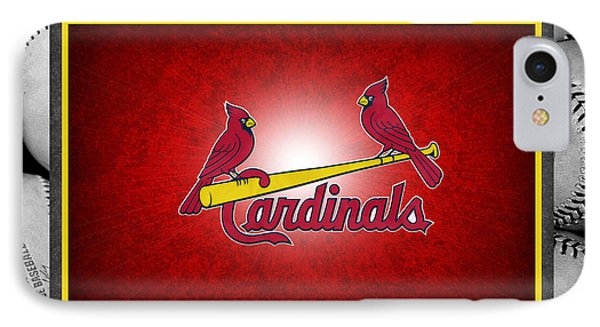 St Louis Cardinals IPhone 7 Case by Joe Hamilton