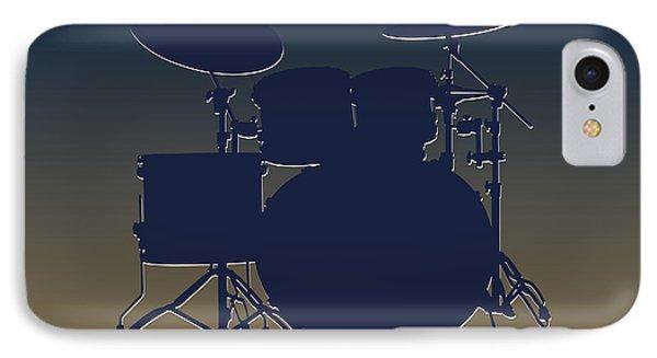 St Louis Rams Drum Set IPhone 7 Case by Joe Hamilton