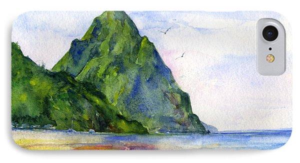 St. Lucia IPhone Case by John D Benson
