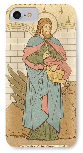 St Luke The Evangelist IPhone Case by English School