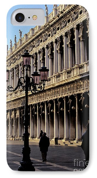 St. Mark's Square Venice Italy Phone Case by Ryan Fox