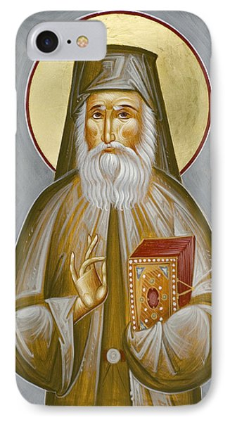 St Nektarios Of Aegina IPhone Case by Julia Bridget Hayes