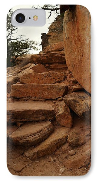 Stairs In The Desert Phone Case by Jeff Swan