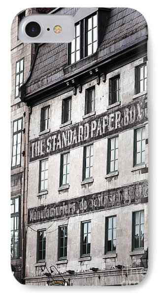 Standard Paper IPhone Case by John Rizzuto