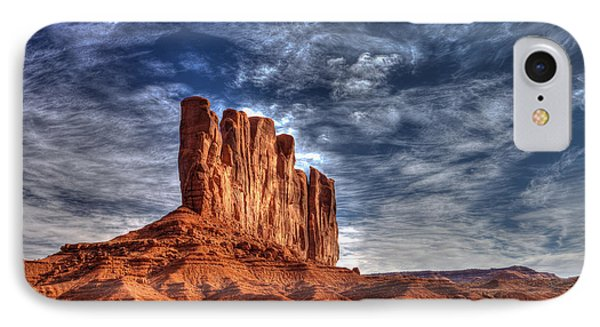 Standing Tall In Color IPhone Case by Frederick H Claflin