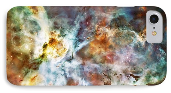 Star Birth In The Carina Nebula  IPhone 7 Case by Jennifer Rondinelli Reilly - Fine Art Photography