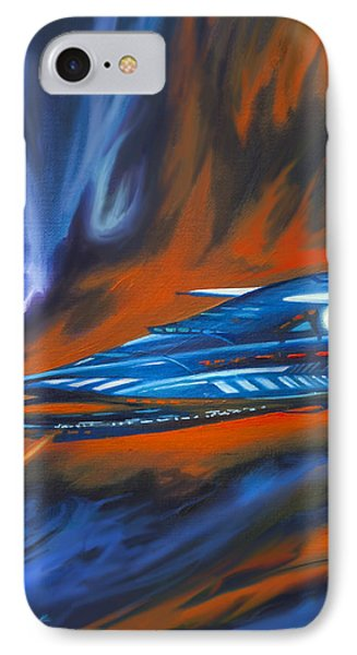 Star Cruiser IPhone Case by James Christopher Hill