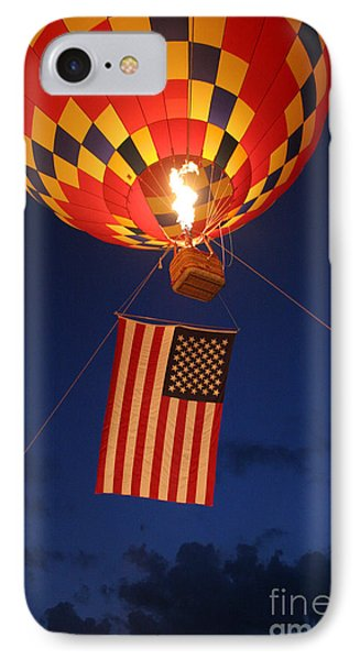 Star Spangled Glow IPhone Case by Paul Anderson