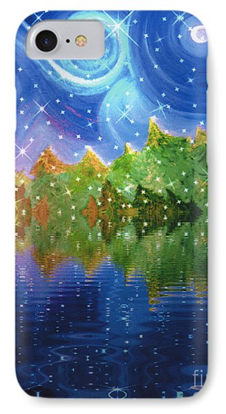 Starfall IPhone Case by First Star Art