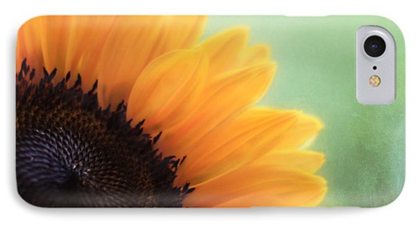 Staring Into The Sun IPhone 7 Case by Amy Tyler