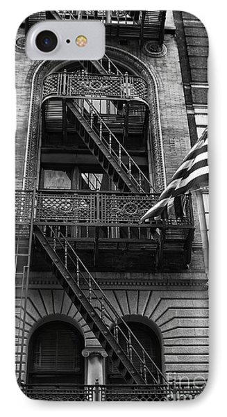 Stars And Stripes In Nyc IPhone Case by John Rizzuto