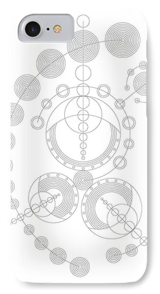 Starship IPhone Case by DB Artist