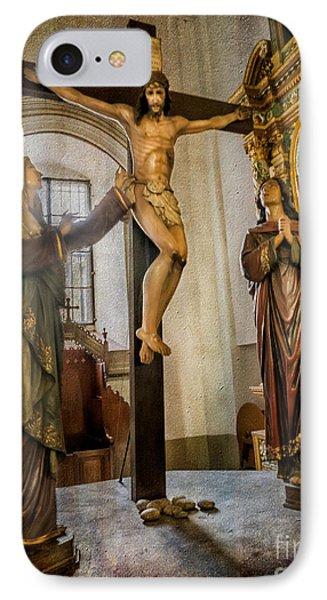 Statue Of Jesus IPhone Case by Adrian Evans
