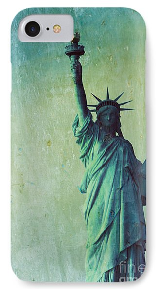 Statue Of Liberty Phone Case by Sophie Vigneault
