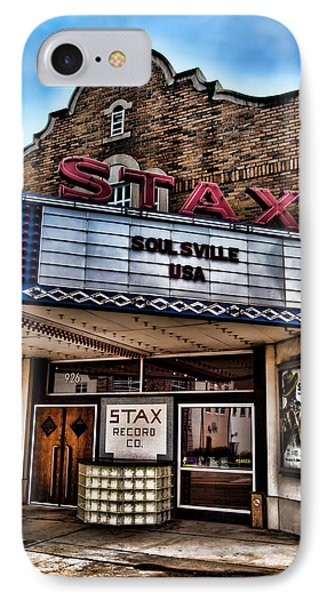 Stax Records IPhone Case by Stephen Stookey