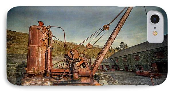 Steam Crane IPhone Case by Adrian Evans