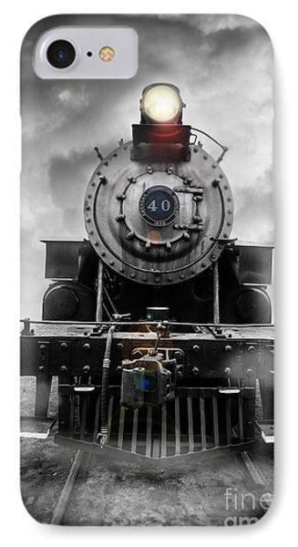 Steam Train Dream IPhone Case by Edward Fielding
