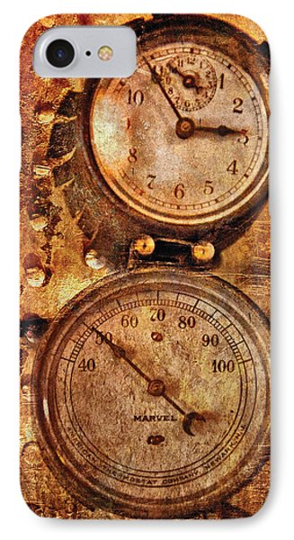 Steampunk - Gauges Phone Case by Mike Savad