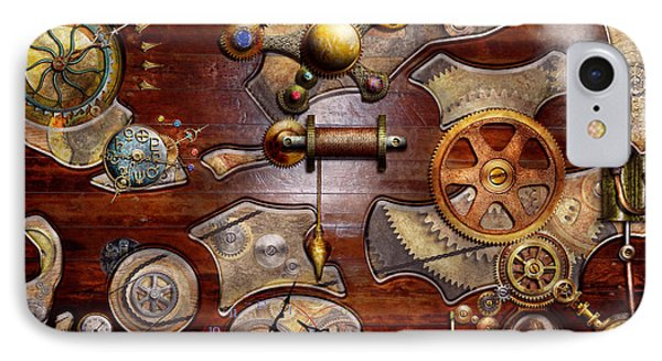 Steampunk - Gears - Reverse Engineering Phone Case by Mike Savad