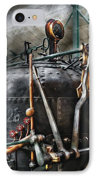 Steampunk - The Steam Engine Phone Case by Mike Savad