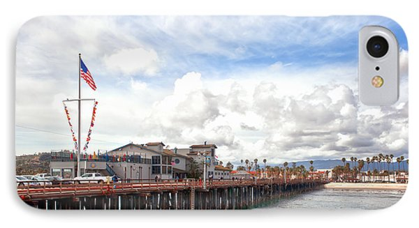 Stearns Wharf Santa Barbara California Phone Case by Artist and Photographer Laura Wrede