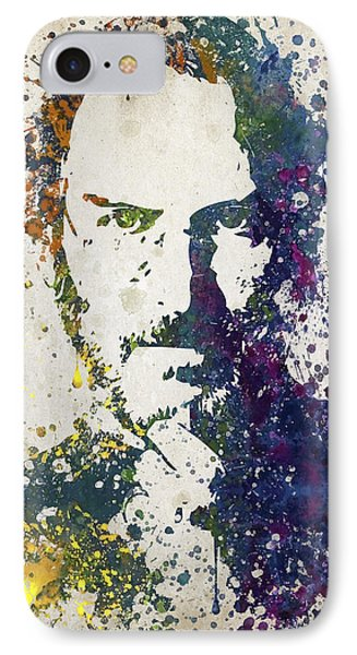 Steve Jobs In Color 02 IPhone Case by Aged Pixel