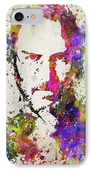 Steve Jobs In Color IPhone Case by Aged Pixel