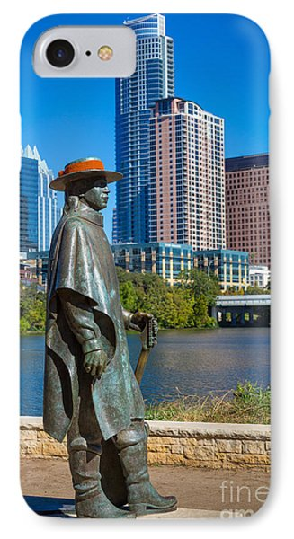 Stevie Ray Vaughan IPhone Case by Inge Johnsson