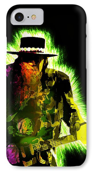 Stevie Ray Vaughan IPhone Case by Michael Lee