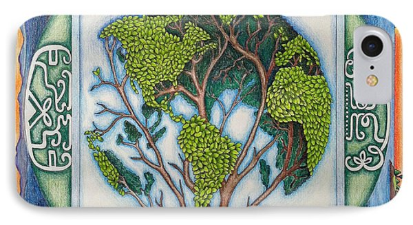 Stewardship Of The Earth IPhone Case by Arla Patch
