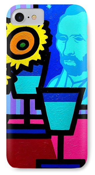 Still Life With Vincent Phone Case by John  Nolan