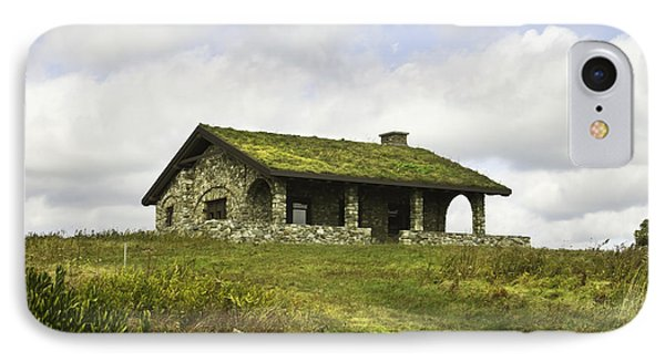Stone Building On Beech Hill Rockport Maine IPhone Case by Keith Webber Jr