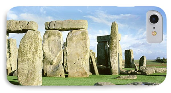 Stonehenge, Wiltshire, England, United IPhone Case by Panoramic Images