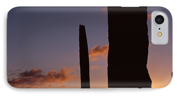 Stones Of Stenness, Orkney Islands IPhone Case by Panoramic Images