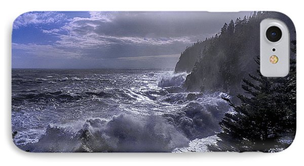 Storm Lifting At Gulliver's Hole Phone Case by Marty Saccone