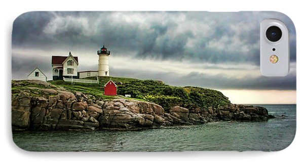 Storm Rolling In Phone Case by Heather Applegate