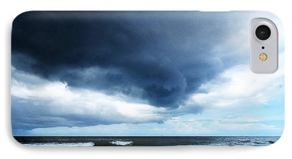 Stormy - Gray Storm Clouds By Sharon Cummings IPhone Case by Sharon Cummings