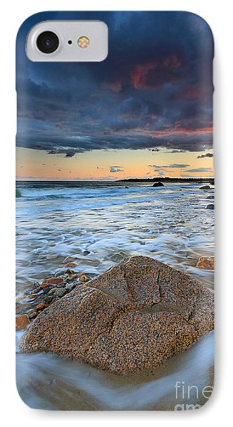 Stormy Sunset Seascape IPhone Case by Katherine Gendreau