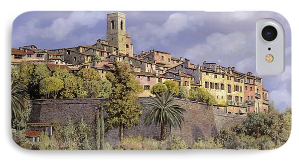 St.paul De Vence IPhone Case by Guido Borelli